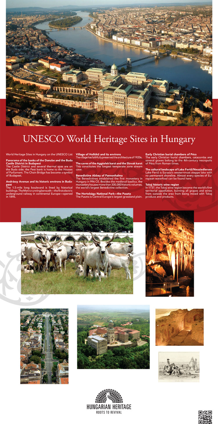 UNESCO Word Heritage Sites in Hungary