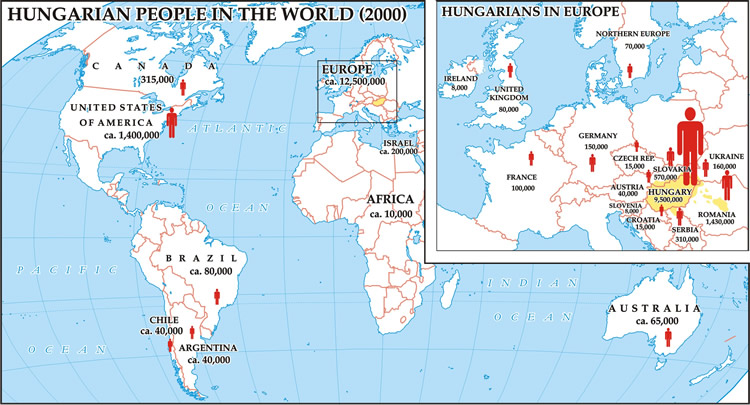 Hungarians in the world