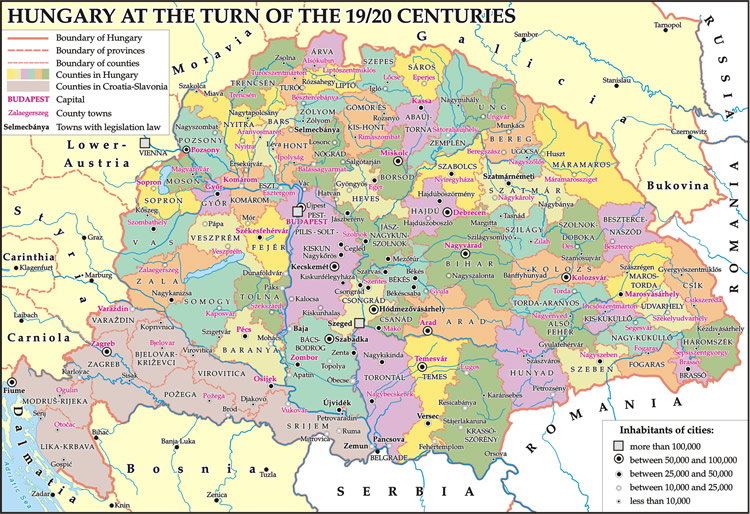 Hungary at the turn of the 19-20 centuries