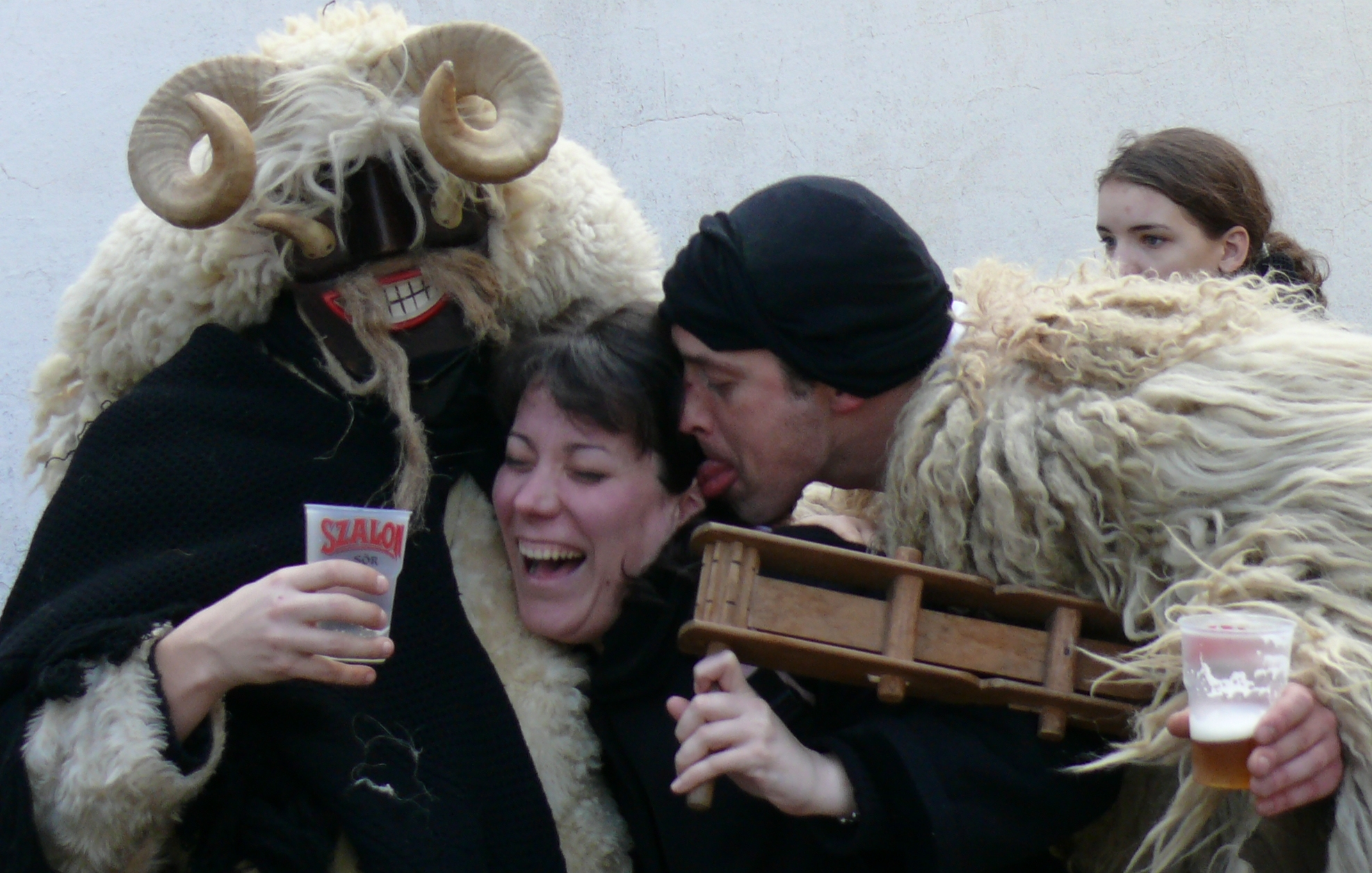 Busó festivities at Mohács: masked end-of-winter carnival custom
