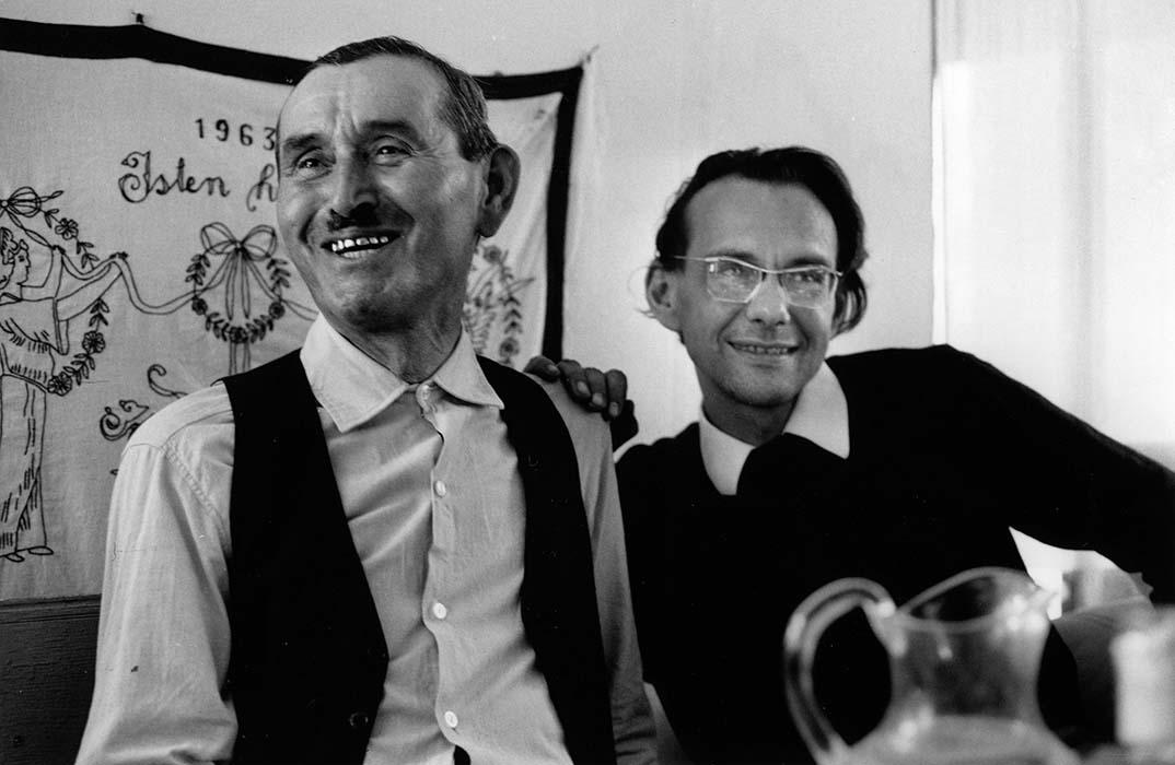 "István Mátyás ""Mundruc"" dancer and György Martin. Magyarvista, 1963."