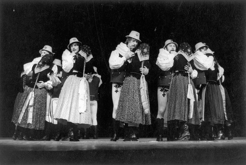"""Sebő-Tímár:  """"Szék Dances,"""" slow; Szolnok, 1973"""