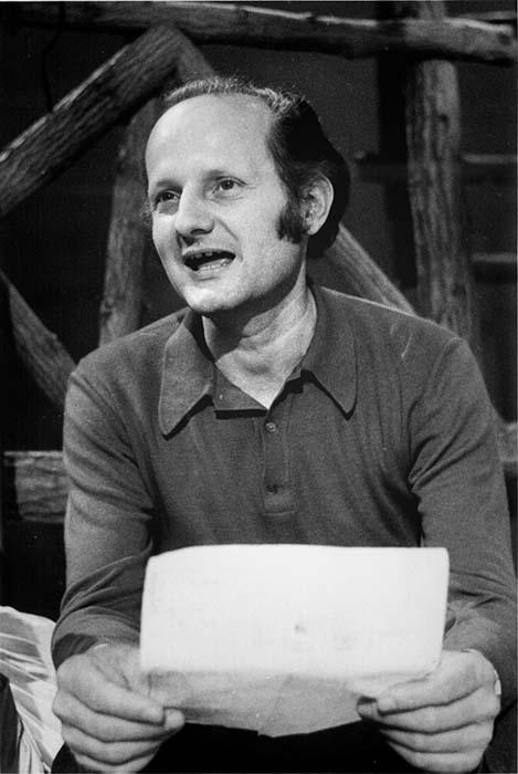 Art director Sándor Tímár; 1973