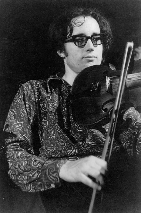 Music director Ferenc Sebő; 1973