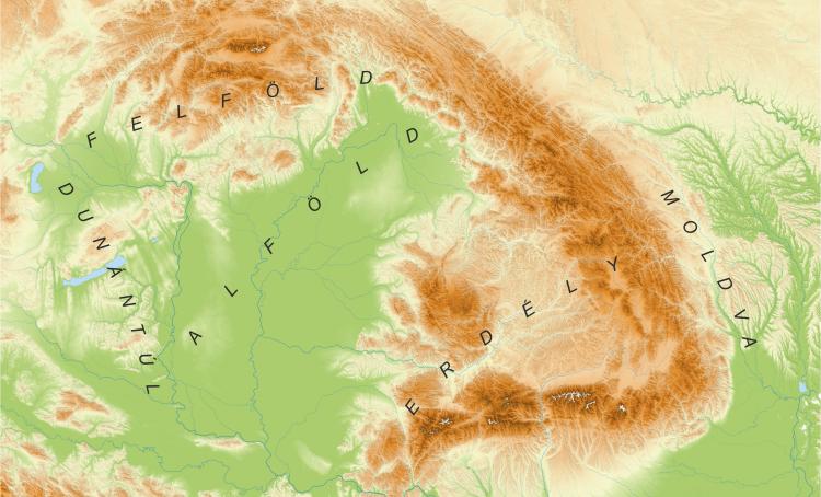 Hungarian Ethnographic Regions