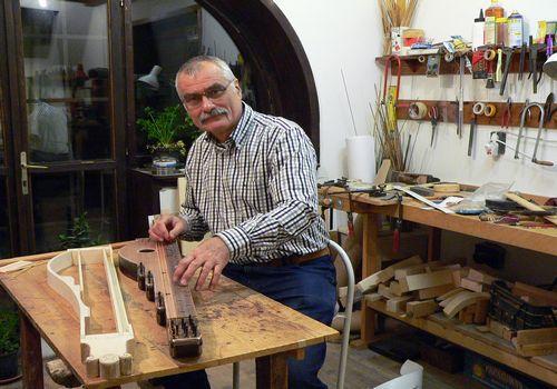 Tibor Gáts, Master of Folk Art
